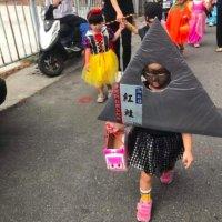 一个个不服输的孩子妈,在万圣节拼了!