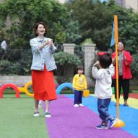 《爱上幼儿园4》张丹峰洪欣和小孩斗智斗勇