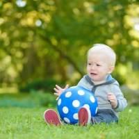 7个月宝宝户外视觉训练
