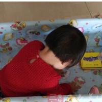 16个月宝宝摔下床骨折,宝宝安全引人深思!