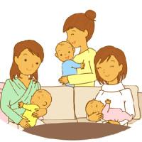母乳喂养图片   图解母乳喂养宝宝的各种姿势