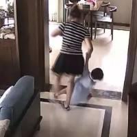 保姆虐待2岁女儿,翻看监控的妈妈心都碎了!而保姆的理由让人大跌眼镜…