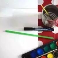 """【创意绘画】这些""""奇怪""""的绘画方式,孩子们肯定超级喜欢!"""